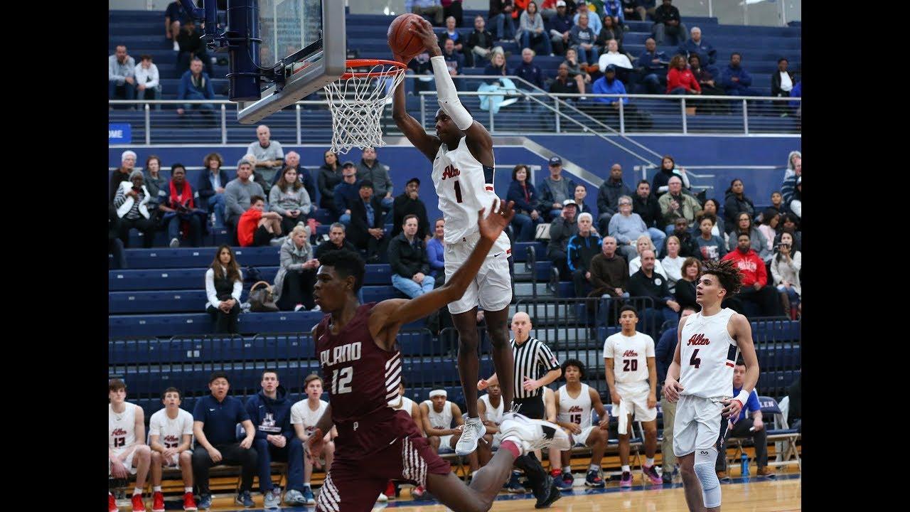 Allen vs  Plano Boys Basketball Highlights | Sports