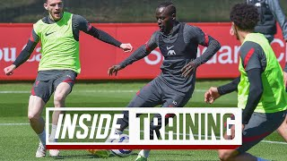Inside Training: Shooting drills, stunning Shaqiri volley & skills in the rondos