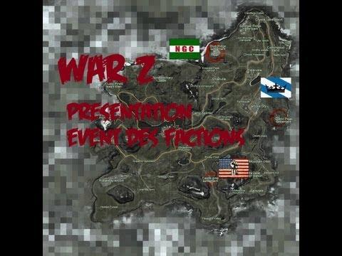 War Z - Présentation Rapide, Sur L'event Des Factions !