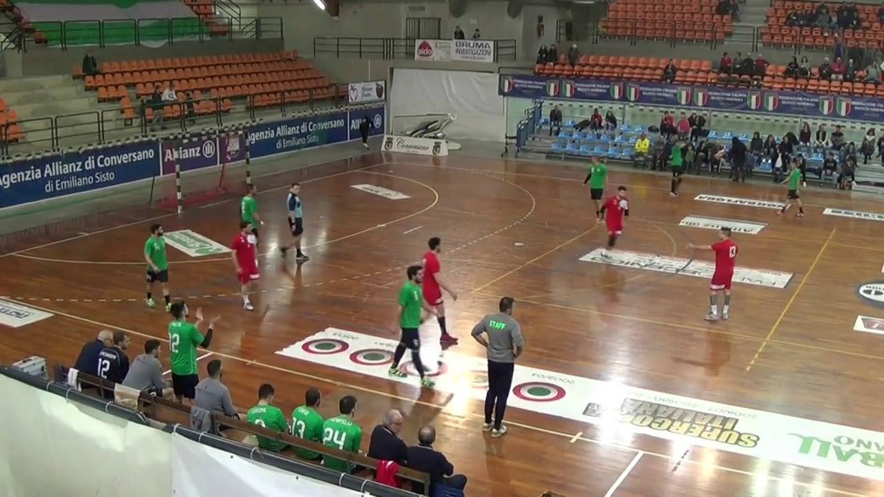 Serie A1M [Play-Off 6^]: Conversano - Cingoli 33-28
