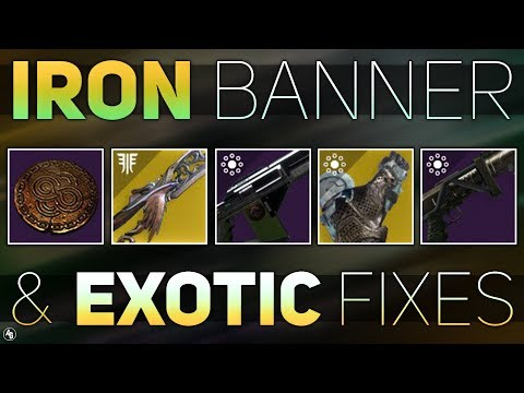 Destiny 2 | Iron Banner Weapons Returning, Exotic Bugs, & Infusion System isn't going anywhere thumbnail