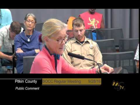 Board of County Commissioners Regular Meeting September 28, 2016