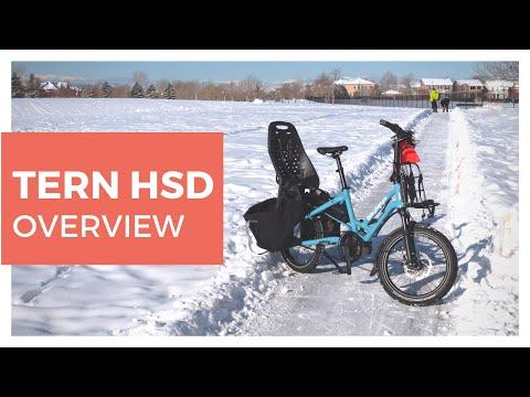 Meet The Tern HSD Electric Bike