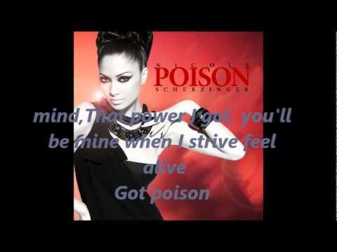Nicole Scherzinger-Poison(acoustic version)with lyrics