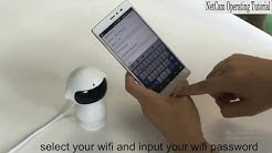 Netcam software to robot p2p wifi ip camera