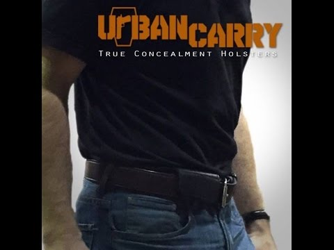 Urban Carry Holster: Deep Conceal Carry Holster Review - YouTube