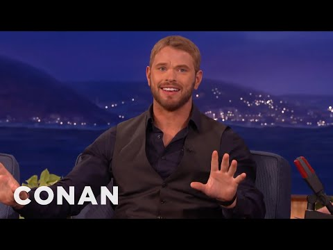 Kellan Lutz Is All About His Vision Board  - CONAN on TBS