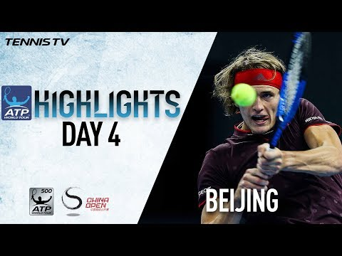 Highlights: Zverev, Nadal & Rublev Feature In Beijing 2017 Thursday Action