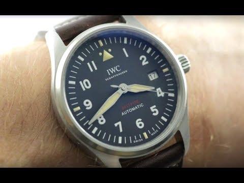 2019 IWC Pilot's Watch Spitfire Manufacture IW3268-01 IWC Watch Review