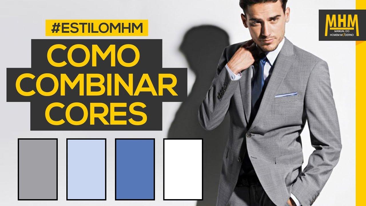 4eee07ab7 Como combinar cores de roupas masculinas | Moda Masculina - YouTube