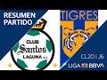 Resumen y Goles | Santos vs Tigres | Jornada 6 - CL 2020 | Liga BBVA MX