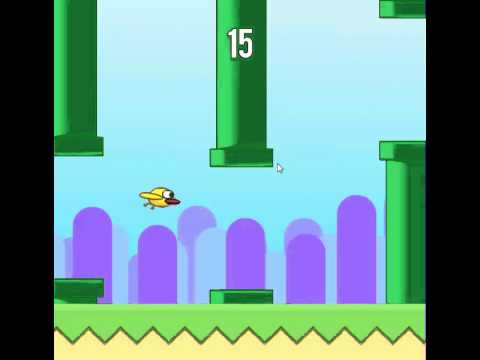 Flappy Bird Cheap Flash Imitation: Crappy Bird