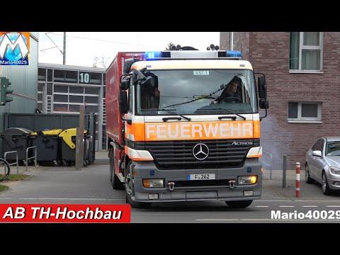 [4 Einsätze Gleichzeitig] WLF-Kran AB TH-Hochbau BF Frankfurt FRW 4