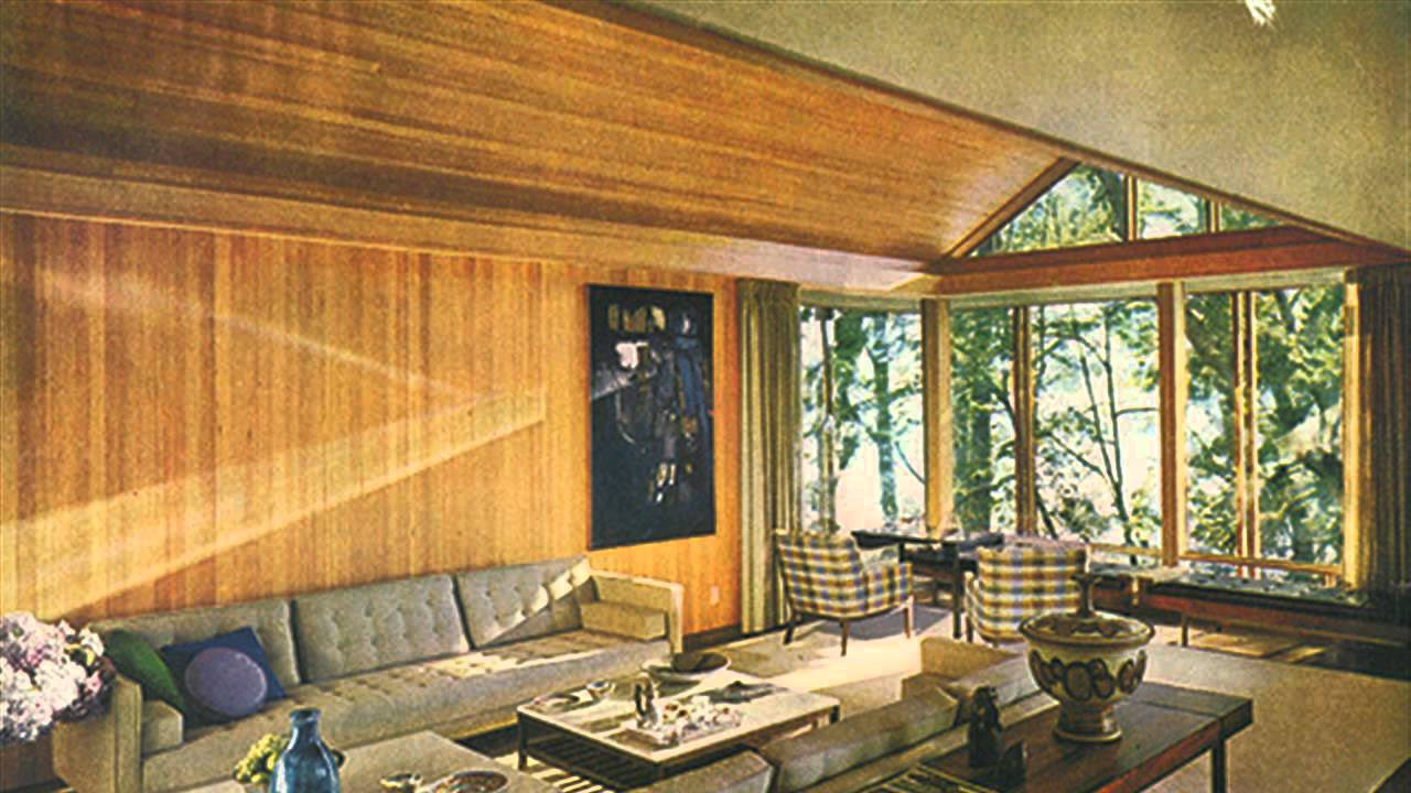 Interior design in the 39 50s and 39 60s youtube for Interior design 70s style