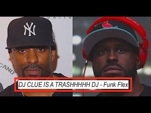 Funk Flex CALLS OUT Dj Clue AGAIN 'He is a TRASH DJ' Dj Clue Fires Back!