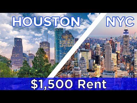 $1,500 Rent: New York Vs Houston