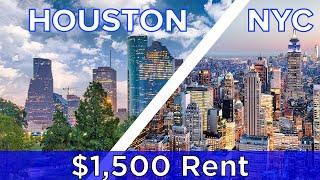 $1,500 Rent: New York Vs. Houston
