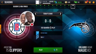 My NBA LIVE Mobile Stream