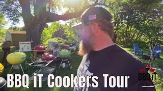 """""""LIVE"""" realtime Grill Tour of all my cookers & Weber Kettles   BBQ iT screenshot 1"""