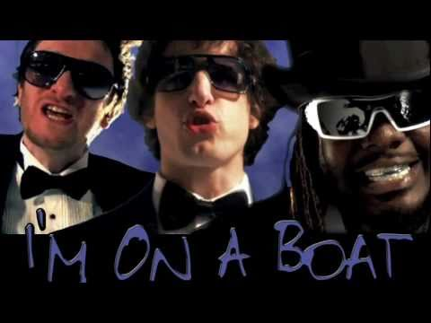 Im on a boat song and lyrics