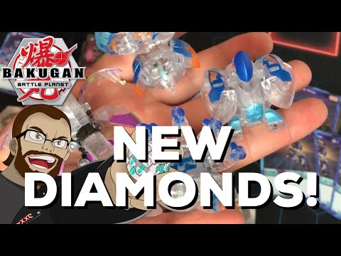 Unreleased Diamond Bakugan From Spinmaster!!