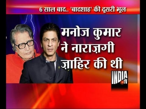 Manoj Kumar to file lawsuit against SRK for Character assassination