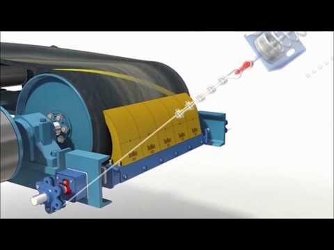 Система Trellex для очистки конвейерных лент
