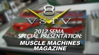 2012 SEMA V8TV VIDEO COVERAGE - HEMMINGS MUSCLE MACHINES MAGAZINE