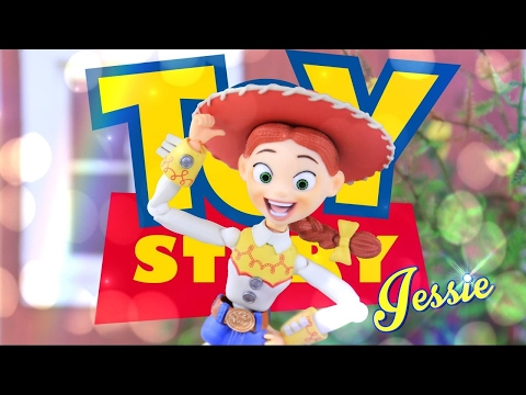 Unbox Daily: Disney Toy Story Jessie by SciFi Revoltech - Ultra Articulated - Doll Review - 4K