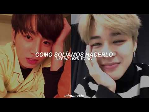 We Don't Talk Anymore - Jimin & Jungkook (Sub. Español // Eng Lyrics ) [BTS / FMV]
