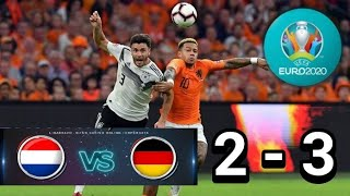 Download Video Amazing All Goal BELANDA vs JERMAN 2 - 3  | kualifikasi Euro 2020 | Highlights Hasil Pertandingan MP3 3GP MP4