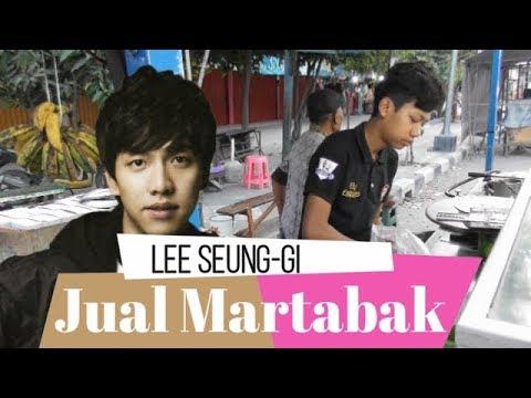 Beli Martabak Di Pinggir Jalan Rp 15 Ribu, Penjualnya Aktor Korea Lee Seung-gi