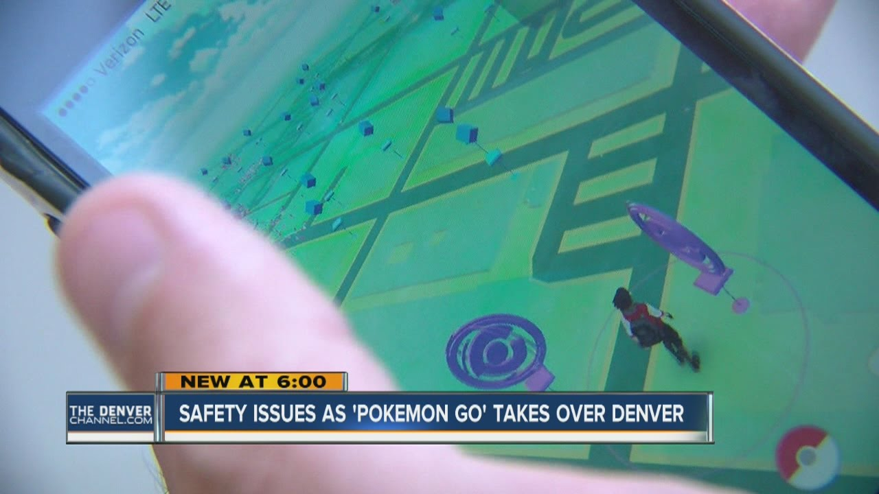 Pokemon Go app raising safety concerns