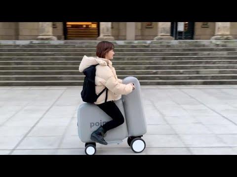 دراجة كهربائية قابلة للنفخ والطي يمكن حملها في حقيبة ظهر  - نشر قبل 3 ساعة