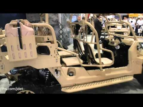 AUSA 2015: Polaris Defense on their MRZR ultra-light all-terrain vehicle