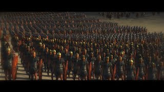Battle of Carrhae 53 BC | Total War: Rome 2 historical movie in cinematic Rome vs Parthia