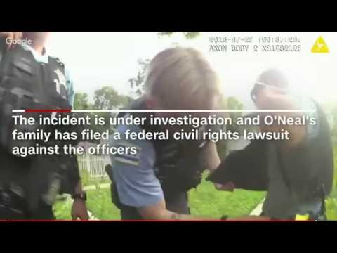 Unarmed Paul O'Neal killed by police: Police footage released