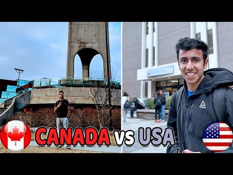 Why I Chose Canada Over US? Best Country To Study? America Vs Canada