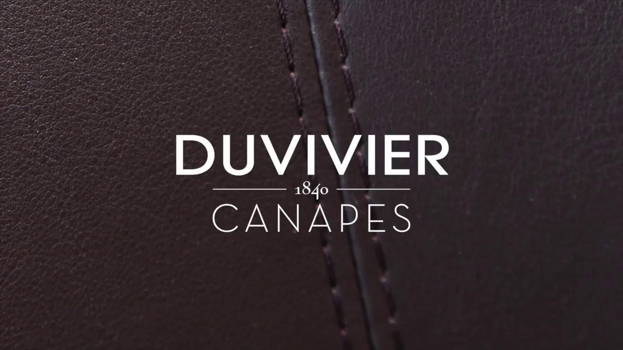 Duvivier canap s savoir faire youtube for Canape duvivier