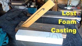 LOST FOAM ALUMINUM CASTING - FLASK HANDLES - MSFN