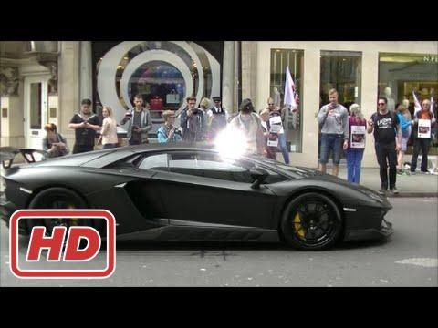 [ Mr Glenn ] Photographer irritates Lamborghini drivers in