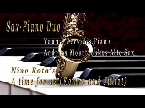 A time for us Romeo and Juliet  Nino Rota  Sax  Piano