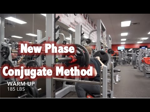 New Phase - CONJUGATE METHOD Workout