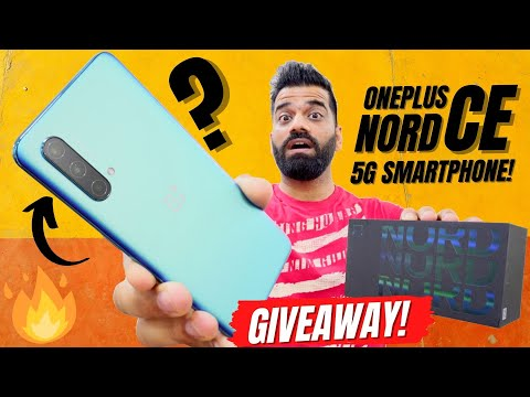 OnePlus Nord CE 5G Unboxing & First Look - Complete Package!!! Giveaway