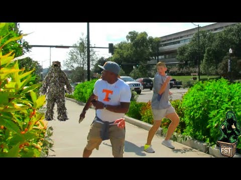 BEST BUSHMAN MEN SCARE PRANK AT TENNESSEE 2018