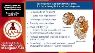 reversal of newer anticoagulants – when and how