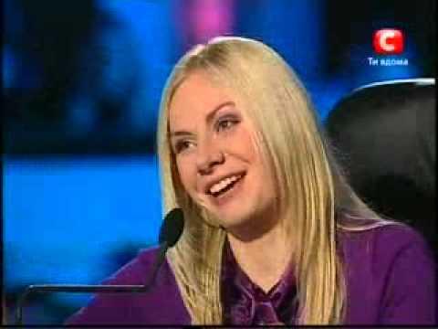 Минута славы на Украине  Брутальная девушка