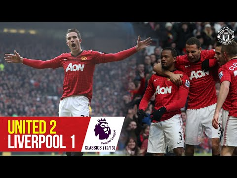 Van Persie stars as Reds sink Liverpool | Manchester United 2-1 Liverpool | Premier League Classic
