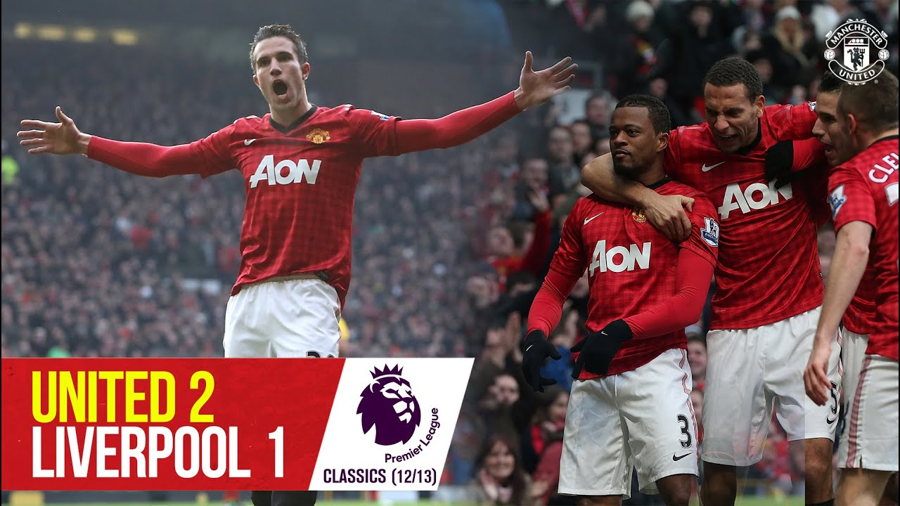Download Van Persie stars as Reds sink Liverpool | Manchester United 2-1 Liverpool | Premier League Classic