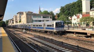 Metro-North Railroad Harlem Line Budd M3A EMU Trains @ Bronxville (6/28/19)